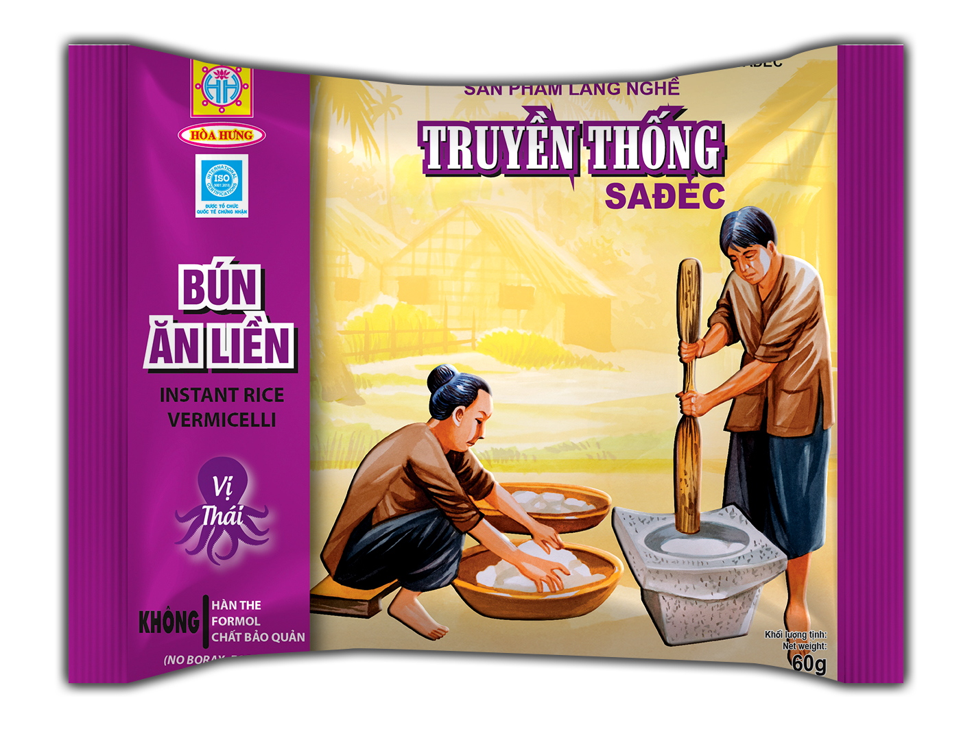 Noodles with Thai flavor